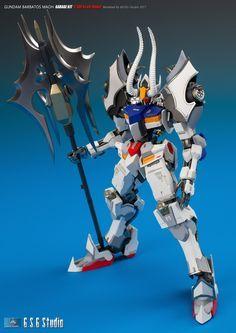 GUNDAM GUY: Gundam Barbatos Maoh - Custom Build