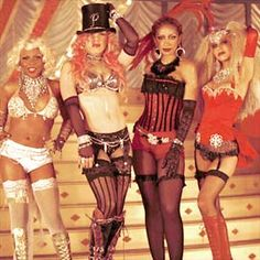 Lady Marmalade (the only one I liked when Patti LaBelle did it, and I like this version, too)