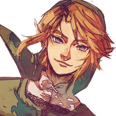 "The Legend of Zelda Characters X Reader Oneshots - Twilight Princess Link X Reader - ""Senpai"" The Legend Of Zelda, Legend Of Zelda Memes, Legend Of Zelda Breath, Link Twilight Princess, Link Art, Tp Link, Comic Manga, Fanart, Link Zelda"