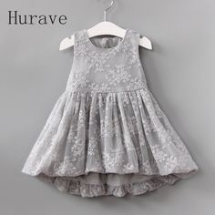 Hurave 2017 cute girls dress lace patchwork dress for girl infantil vestidos 2 colors tutu kids clothes-in Dresses from Mother & Kids on Aliexpress.com | Alibaba Group