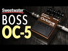 New video BOSS OC-5 Octave Pedal Demo @SweetwaterSound on @YouTube