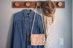 Unique Design Sheep Skin Leather Bag made in by ChakreyaShop