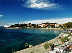 Bacvice Beach - also a perfect place for afternoon walk #Split #Croatia #travel #destination