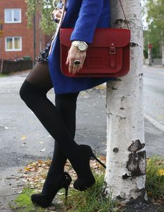 cambridge satchel red- I have this!!! Stunning