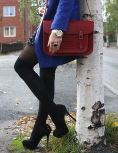 cambridge satchel red
