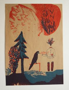 NaPOLI - plakáty v prodeji v papelote / www.papelote.cz / paper, illustration