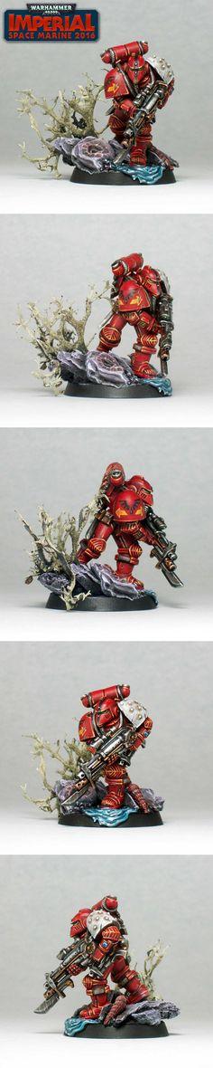 Blood Angel Imperial Space Marine