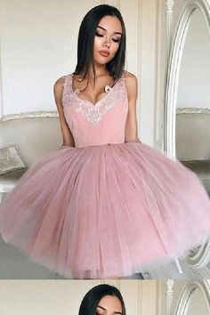 Prom Dresses 2019 #PromDresses2019, A-Line Homecoming Dresses #ALineHomecomingDresses, Backless Prom Dresses #BacklessPromDresses, Pink Homecoming Dresses #PinkHomecomingDresses, Pink Prom Dresses #PinkPromDresses, Homecoming Dresses For Cheap #HomecomingDressesForCheap