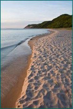 Beach in Benzie County, MI