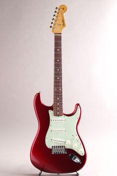 FENDER CUSTOM SHOP[フェンダーカスタムショップ] Masterbuilt 1961 Stratocaster Closet Classic/Canday Apple Red Build by Mark Kendrick 2007|詳細写真