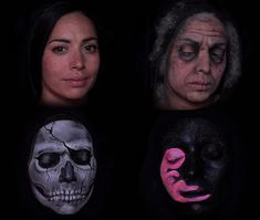 """Stop Motion: Artist Depicts Aging, Death and Reincarnation Using Face Paint:  London-based makeup artist Emma Allen didn't use Photoshop to create her video """"Ruby,"""" she used face paint instead."""