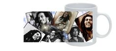 **Bob Marley** Crazy Mug. More fantastic cups & pots, pictures, music and videos of *Robert Nesta Marley* on: https://de.pinterest.com/ReggaeHeart/ http://www.ebay.ie/itm/Mug-BOB-MARLEY-01-musique-tasse-personnalisable-/311636928974?hash=item488f0229ce:g:TYAAAOSwM4xXY63J