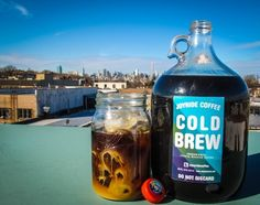 Joyride cold brew coffee growler
