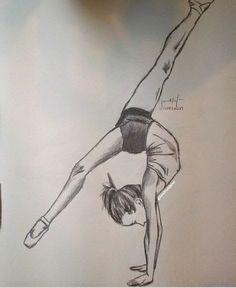Pin by deb on drawings in 2019 dibujos de ballet, dibujos tu Easy Doodles Drawings, Cool Art Drawings, Realistic Drawings, Beautiful Drawings, Colorful Drawings, Ballet Drawings, Dancing Drawings, Pencil Drawings Of Flowers, Pencil Art Drawings