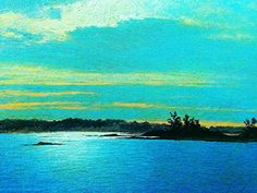 "https://flic.kr/p/zBr2AG   Luigi Speranza -- The Connecticut Shore -- J. F. Kensett, ""Scott's Cove"" -- oil on canvas -- 15 x 24 -- Collezione Spanierman -- ""Kensett and the Connecticut shore,"" Mattatuck, Waterbury, Connecticut."