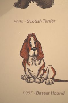 Basset Hound Dog  RETIRED Sells for 6.99 ART IMPRESSIONS RUBBER STAMPS L@@K @EXAMPLES Sold separately are the other items used in the examples. Art Impressions. You can purchase all items in my ebay store: Pat's Rubber Stamps & Scrapbooks, Click on the picture & see the listing , or call me 423-357-4334 with order, We take PayPal. You get FREE SHIPPING ON PHONE ORDERS of $30.00 or more. If it says sold I have more. Use my search engine to find other items U R interested in
