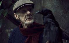Wanted / visage / personnage / photoportrait / pluiesnuhiriennes / composition / vieux / homme / lumière / corbeau