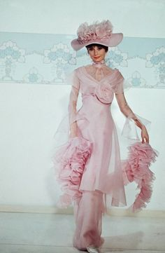 Audrey Hepburn in My Fair Lady, 1964