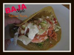 Baja Style salmon Tacos http://cdiabetesrecipes.com/