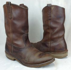 """Red Wing Men/'s 11/""""  Supersole 1105 Wellington Pull On Work Boot Brown Size 10.5D"""