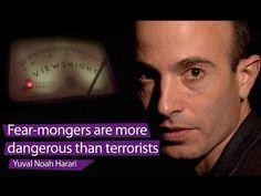 Yuval Noah Harari: 'Fear-mongers are more dangerous than terrorists' – Viewsnight - YouTube
