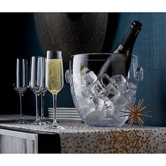 Nattie Champagne Glass | Crate and Barrel #Sweepstakes