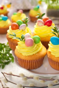 Polish Recipes, Easter Recipes, Mini Cupcakes, Tea Party, Food And Drink, Sweets, Sugar, Desserts, Cup Cakes