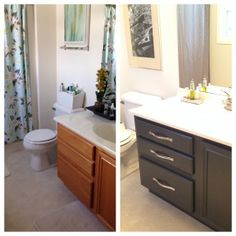 DIY: Bathroom Cabinet Makeover