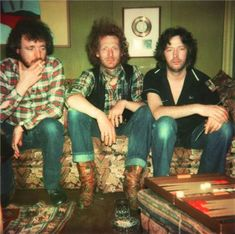 Eric Clapton, Jack Bruce and Ginger Baker, Cream, England