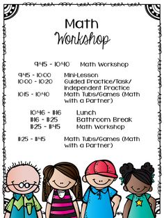 Love that this post details how math workshop is structured, and what students are doing during each component of math workshop.