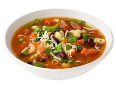 Minestrone Soup via Food Network.  Twin A made this for supper club in February.  Mmm mmm goooood.