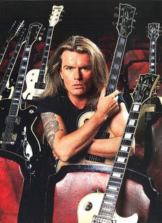 Billy Duffy of The Cult