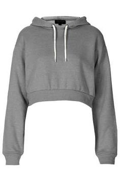 Crop Pull On Hoody - Tops - Clothing   I NEEEED!!!!!