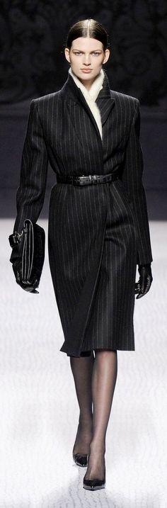 ~ Living a Beautiful Life ~ Alberta Ferretti - I love coat dresses, professional and elegant
