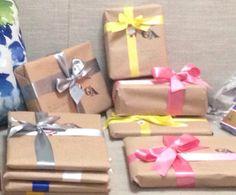 Embrulhos baratos para presentes