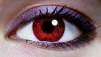 The RAREST natural eye color is red! Found mostly in albinos, it is also the eye color of people who have blood leaking in their iris.