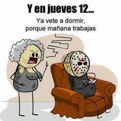 Buenas noches!...#Humor #Viernes13 #LoQueSeEncuentraUnoEnLaRed Descansen! #MamásRockstars #MamásBlogueras by mamasrockstars