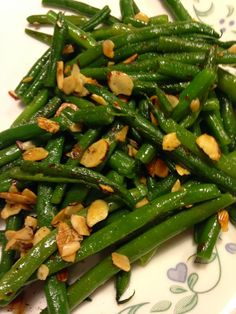 Life in my Kitchen...and beyond: #1,409: Almond Hericot Verts