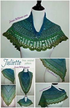 100 Free Crochet Shawl Patterns - Free Crochet Patterns - Page 4 of 19 - DIY & Crafts Shawl Patterns, Easy Crochet Patterns, Sewing Patterns Free, Crochet Stitches, Free Crochet, Knit Crochet, Free Pattern, Crochet Ideas, Crochet Things