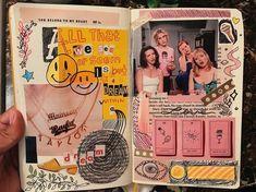 Bullet Journal Aesthetic, Bullet Journal Ideas Pages, Bullet Journal Inspiration, Journal Pages, Collage Book, Book Art, Junk Journal, Pen & Paper, Cool Journals