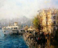 Bulent Kilic 1974 | Seascape / Cityscape painter | Tutt'Art@ | Pittura • Scultura • Poesia • Musica