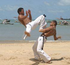 Capoeira slotact openingsact met Braziliaanse percussie