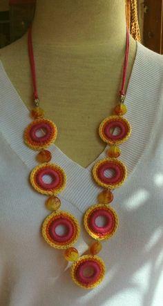 Trendy crochet jewelry ring how to make Ideas Ravelry Crochet, Crochet Mittens, Crochet Beanie, Crochet Gifts, Easy Crochet, Knit Crochet, Crochet Bracelet, Crochet Earrings, Margaret Rose