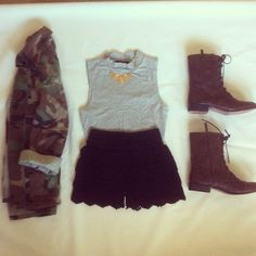 outfit, maybe minus the army jacket...or maybe with?