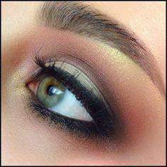 Bronze Smokey Eye. Love!!!!
