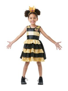 If you love the LOL Surprise Toys then you will certainly love this Queen Bee LOL Child Costume. Great for a range of fancy dress occasions. Fancy Dress Costumes Kids, Cool Costumes, Dance Costumes, Halloween Costumes, Sofia Costume, My Mini Mixieqs, Queen Bees, Unisex, Batgirl