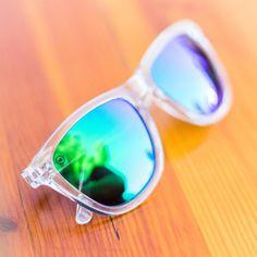 80b865fd98931 Clear   Green Moonshine Premiums. Knockaround SunglassesPolarized ...