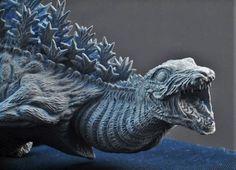 Znalezione obrazy dla zapytania shin gojira first form