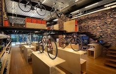 Bike Shop | Retail Design | Sports Equipment | Shop Design | FHL sports store by Design Spirits Kuala Lumpur