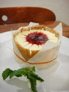 Individual Cheesecake from Mango Ginger in Observatory- just delicious!